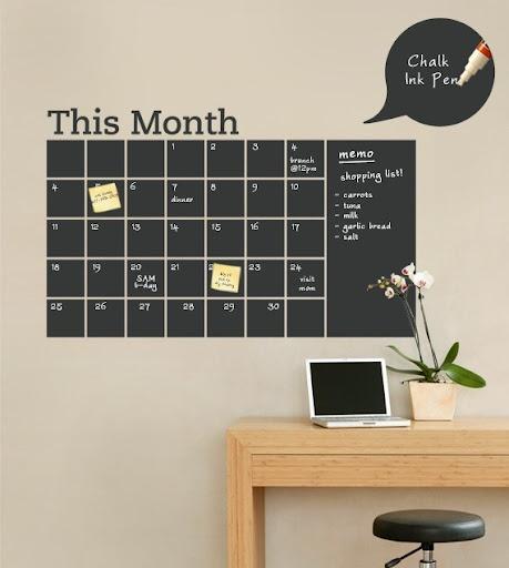Ótimo para organizar a agenda pessoal ou da família